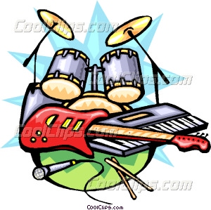300x299 Musical Clipart Rock Music