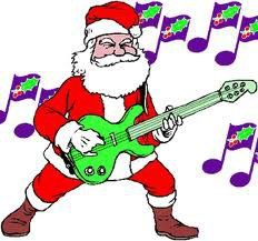 232x217 Rock And Roll Christmas Clip Art
