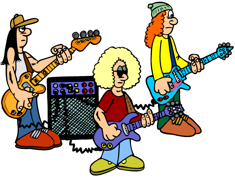 750x572 The British Rock Band Clipart