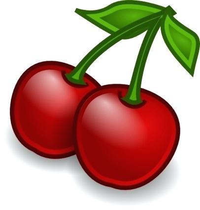 406x425 Free Clip Art Fruit Rocket Fruit Cherries Clip Art Free Clipart