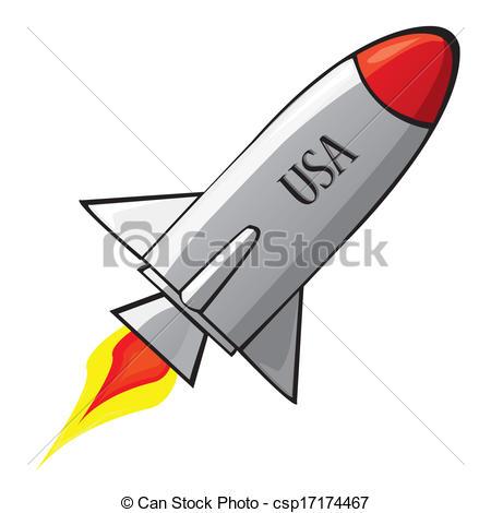 450x470 Illustration Clipart Rocket