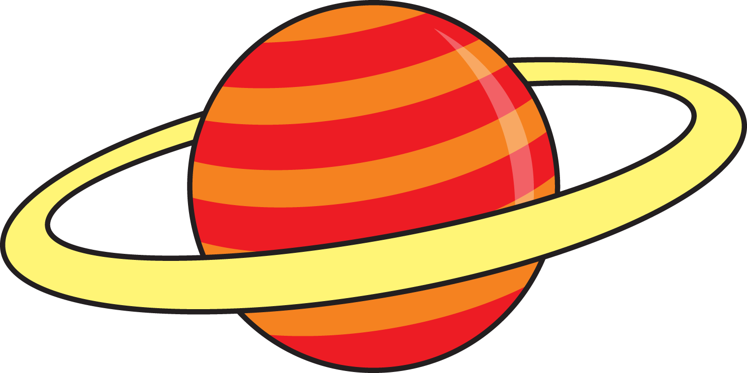1486x742 Outer Space Planets Clipart