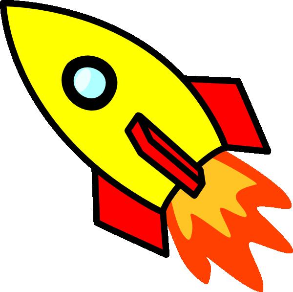600x597 Rocket Clip Art