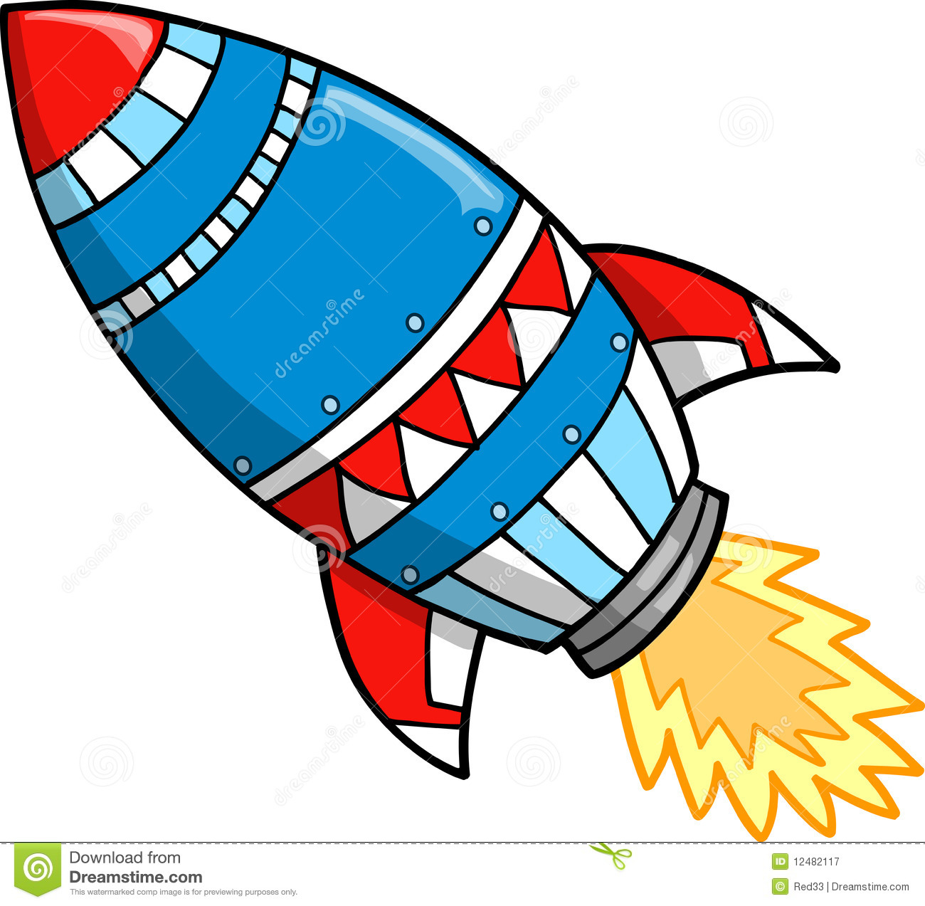 1300x1273 Rocket Clipart Vector