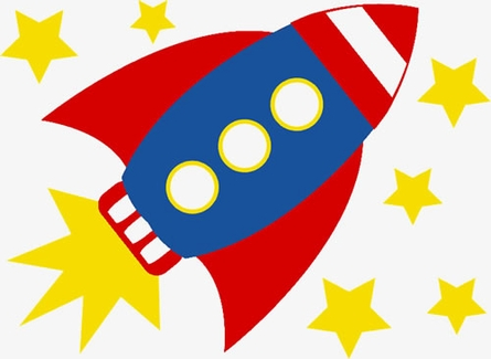 445x325 Collection Of Kids Rocket Drawing High Quality, Free