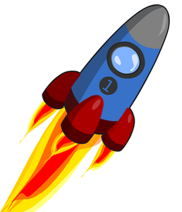 Rocket Ship Clipart
