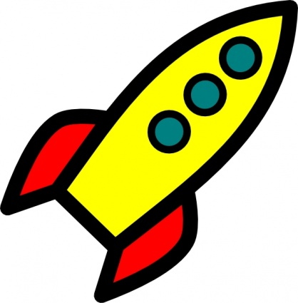 418x425 Icon Outline Cartoon Fly Free Rocket Ship Space Spaceship Pitr