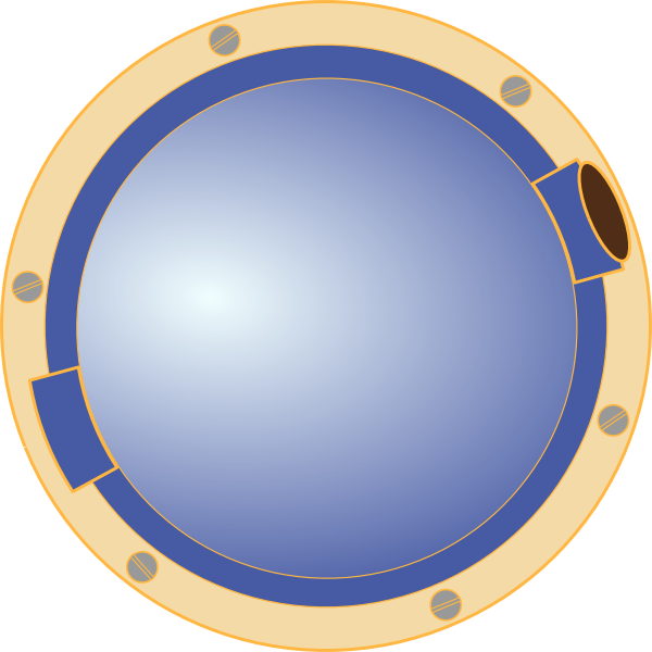 600x600 Porthole Window Ship Clip Art Free Vector 4vector
