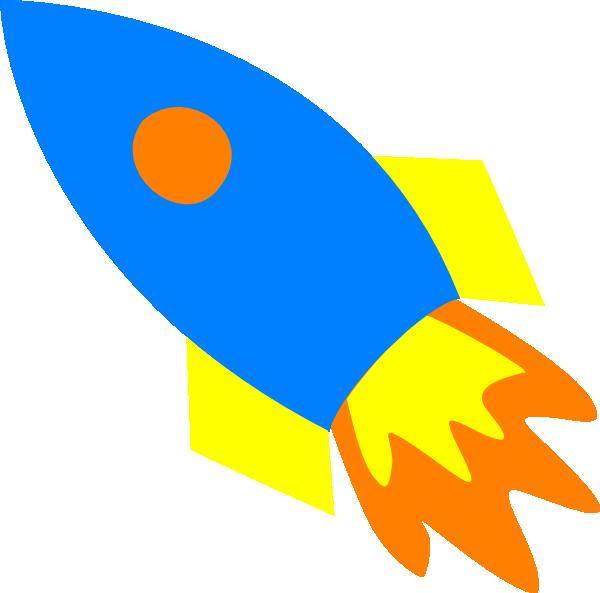 600x593 Blue Rocket Ship Clip Art