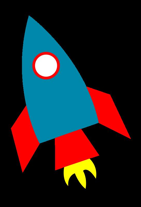 545x800 Rocketship Clipart