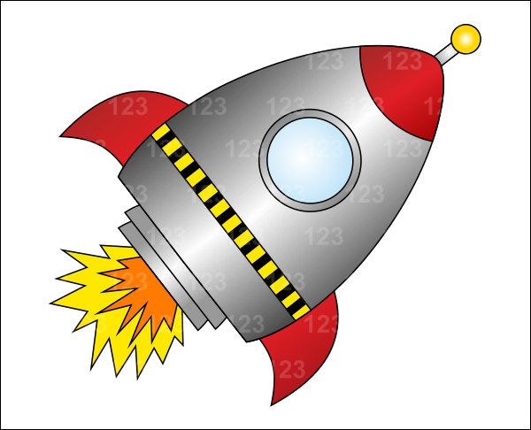 600x486 Space Ship Clipart