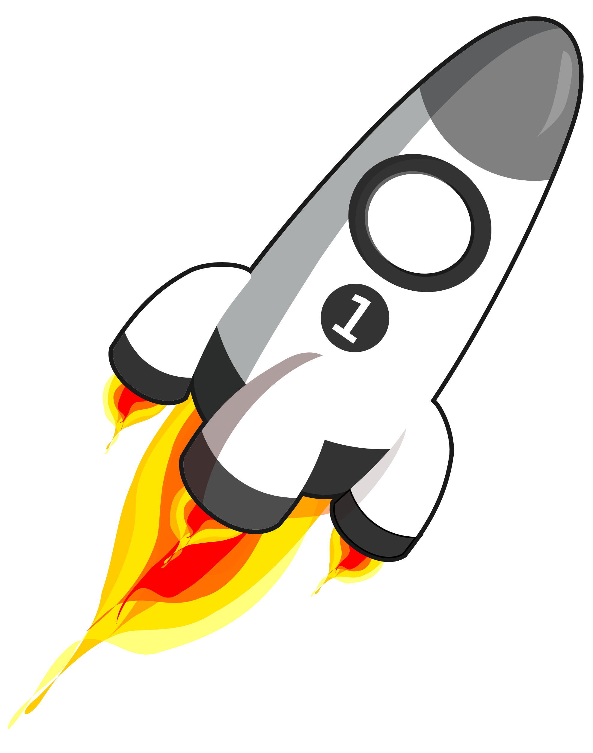 1979x2513 Clip Art Of Rockets Images On Page 0 Yanhe Clip Art