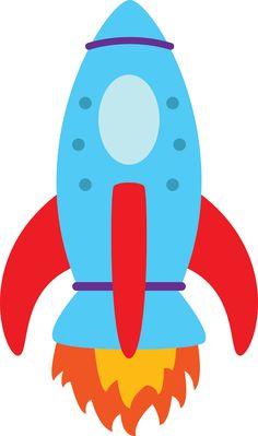 236x399 Blue Rocket Ship Clip Art