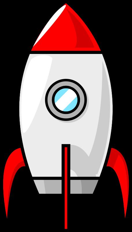 457x800 Cartoon Rocket Ship Clipart