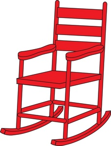 229x300 Free Rocking Chair Clipart Image 0071 0811 0514 5203 Furniture