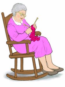 225x300 Clipart Old Woman Rocking Chair Free Images