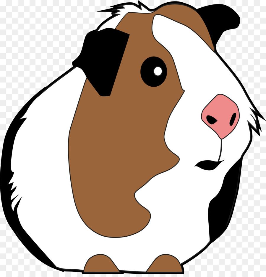 900x940 Guinea Pig Domestic Pig Rodent T Shirt Clip Art
