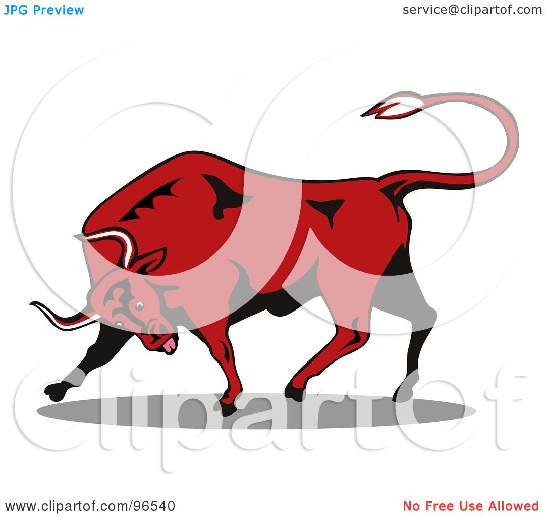 1080x1024 Red Bull Clipart Rodeo Bull