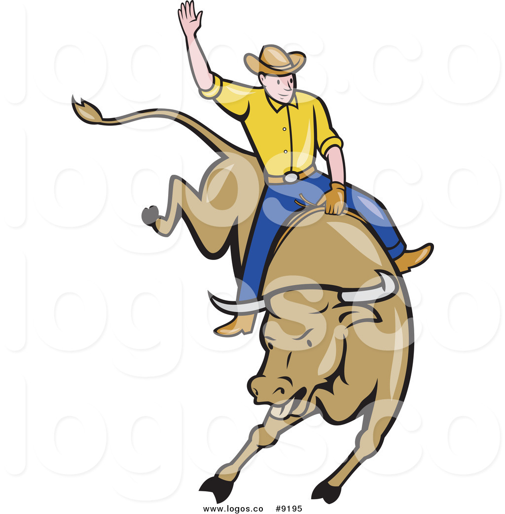 1024x1044 Royalty Free Clip Art Vector White Male Rodeo Cowboy On A Bucking