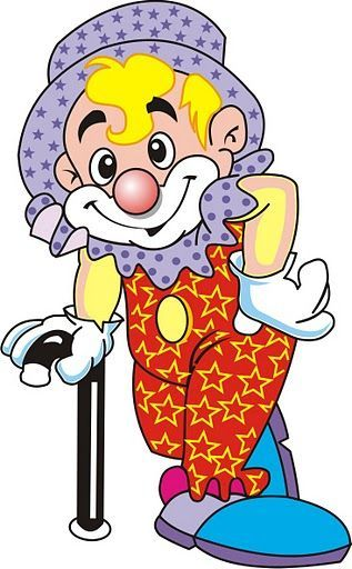 Rodeo Clown Clipart