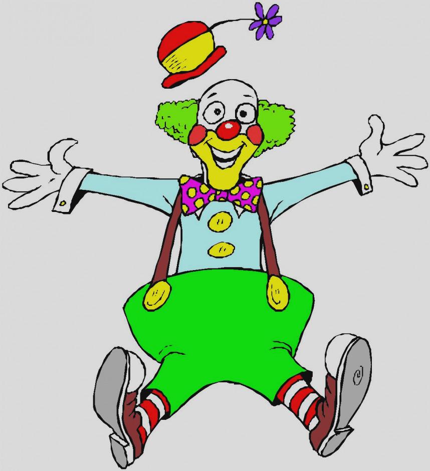 858x940 Free Clown Clipart