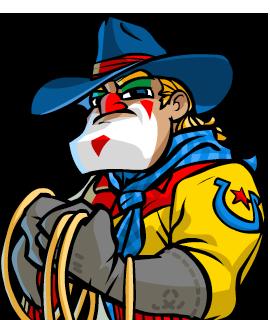 270x320 Rodeo Clown By Nemodemos