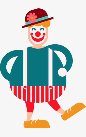 350x554 Vector Fat, Vector, Clown, Fatty Png And Vector For Free Download