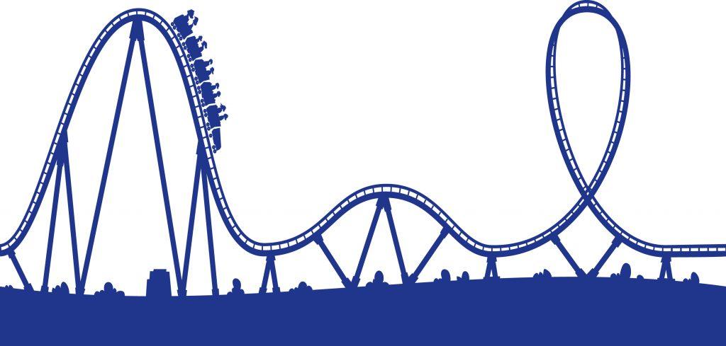 1024x489 Roller Coaster Clip Art Roller Coaster Track Clipart