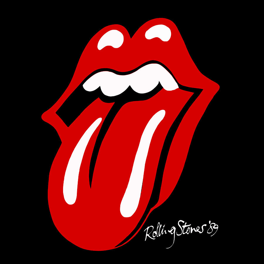 900x900 Rolling Stones Digital Art By Gina Dsgn