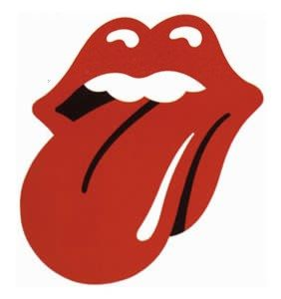 564x600 Rolling Stones Logo Clipart Free Images