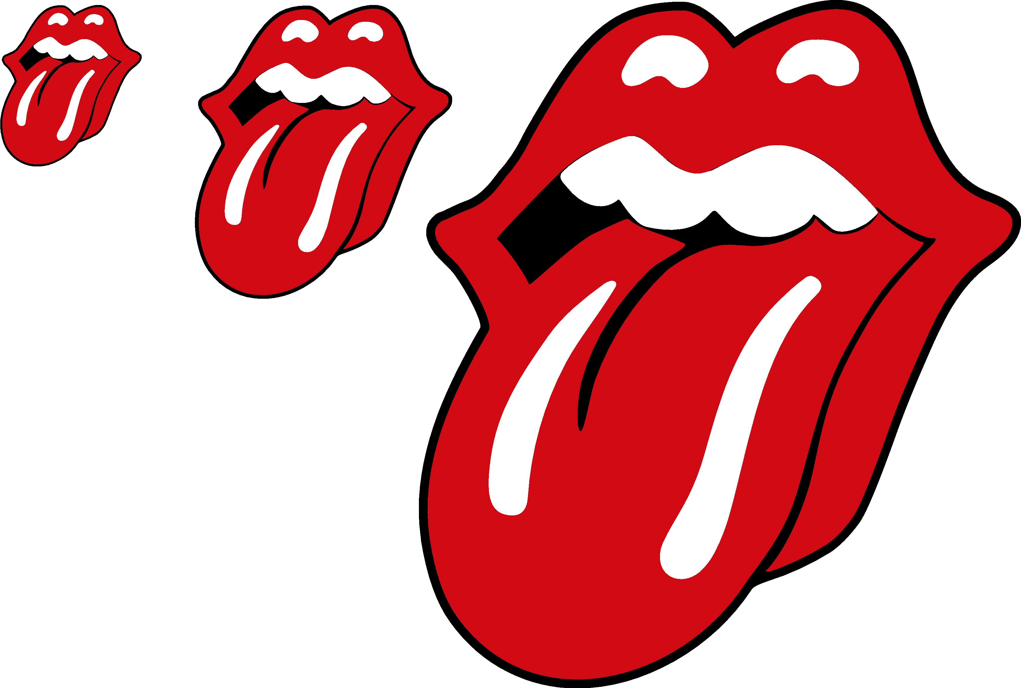 3473x2340 Rolling Stones Tongue Decal Vinyl Sticker