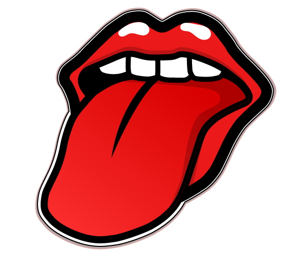 600x505 Rolling Stones Tongue Vector Free 123freevectors