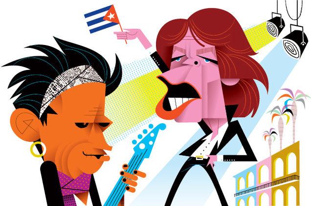 636x421 Staging The Rolling Stones#39 Historic Havana Concert
