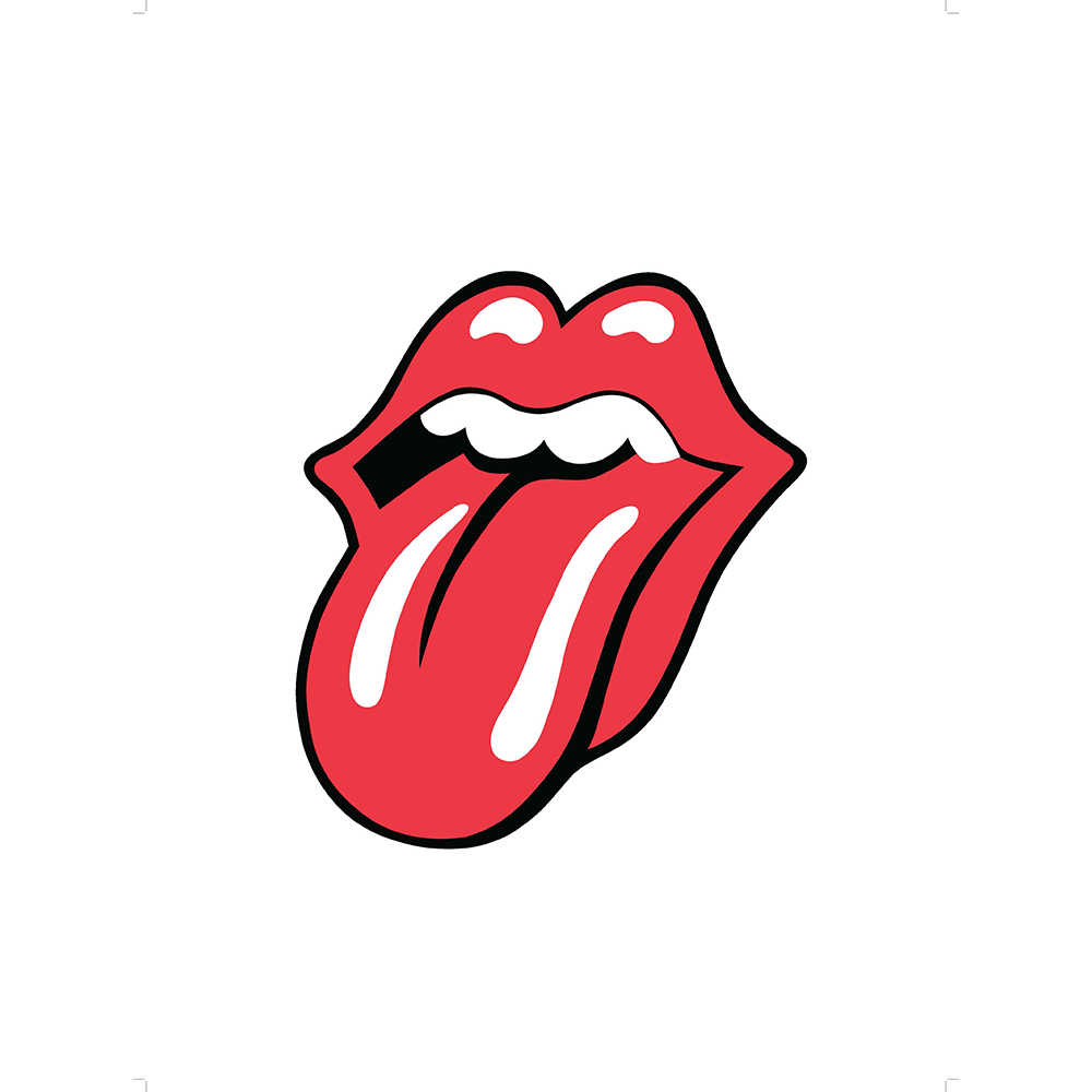 1000x1000 The Rolling Stones Tongue Logo 1971 Lithograph