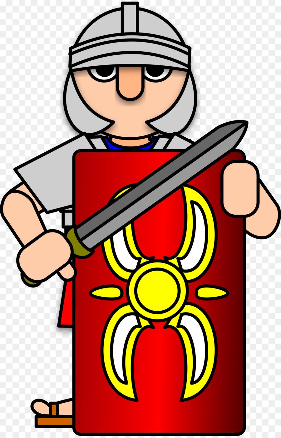 900x1400 Ancient Rome Roman Army Soldier Clip Art