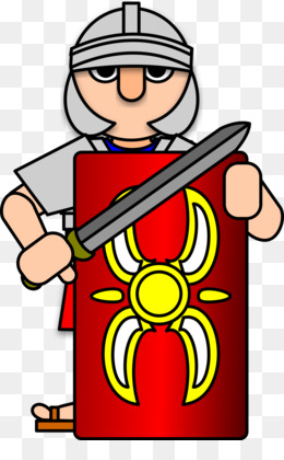 260x420 Free Download Ancient Rome Roman Army Soldier Clip Art