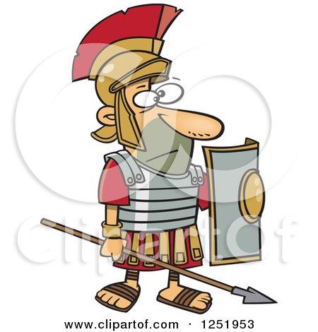 450x470 Rome Clipart Brave Soldier