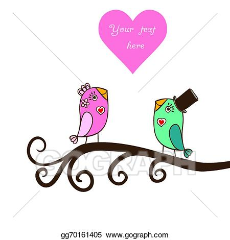 450x470 Bird Clipart Romantic
