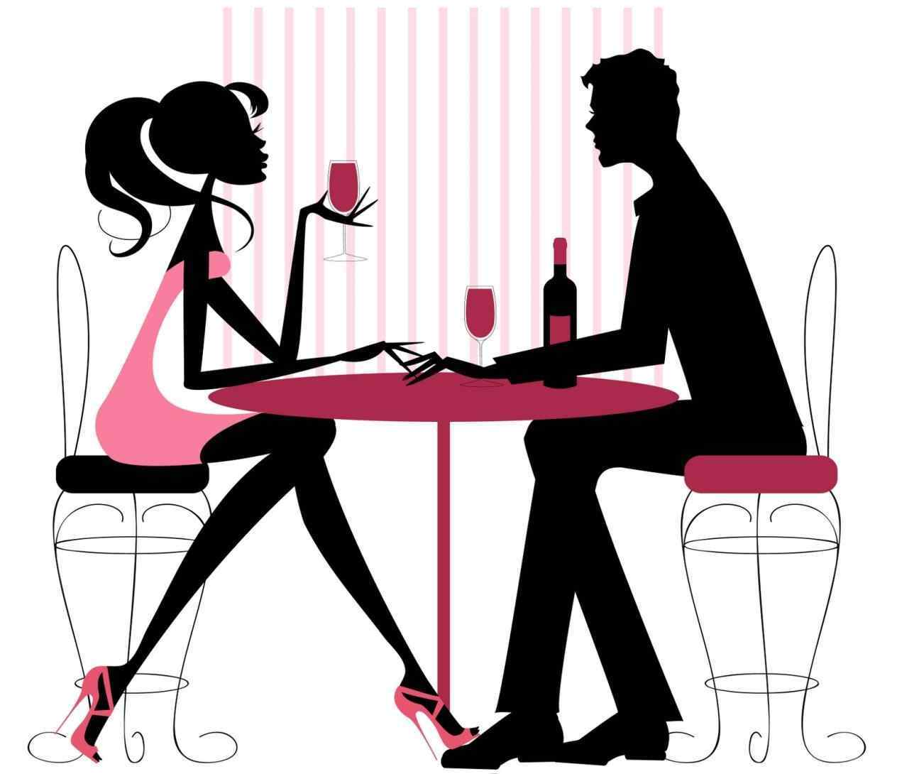 1264x1090 Unbelievable Date Clipart Romantic Dinner For Two Clip Art
