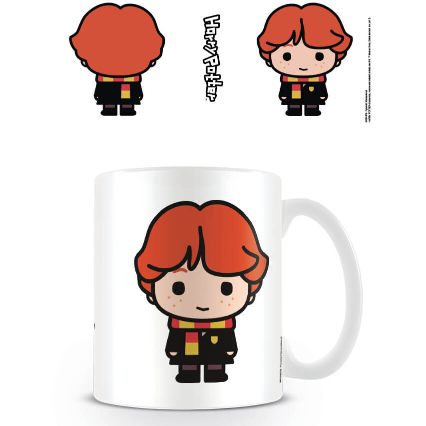 853x853 Harry Potter Kawaii Ron Weasley Mug Traditional Gifts Zavvi