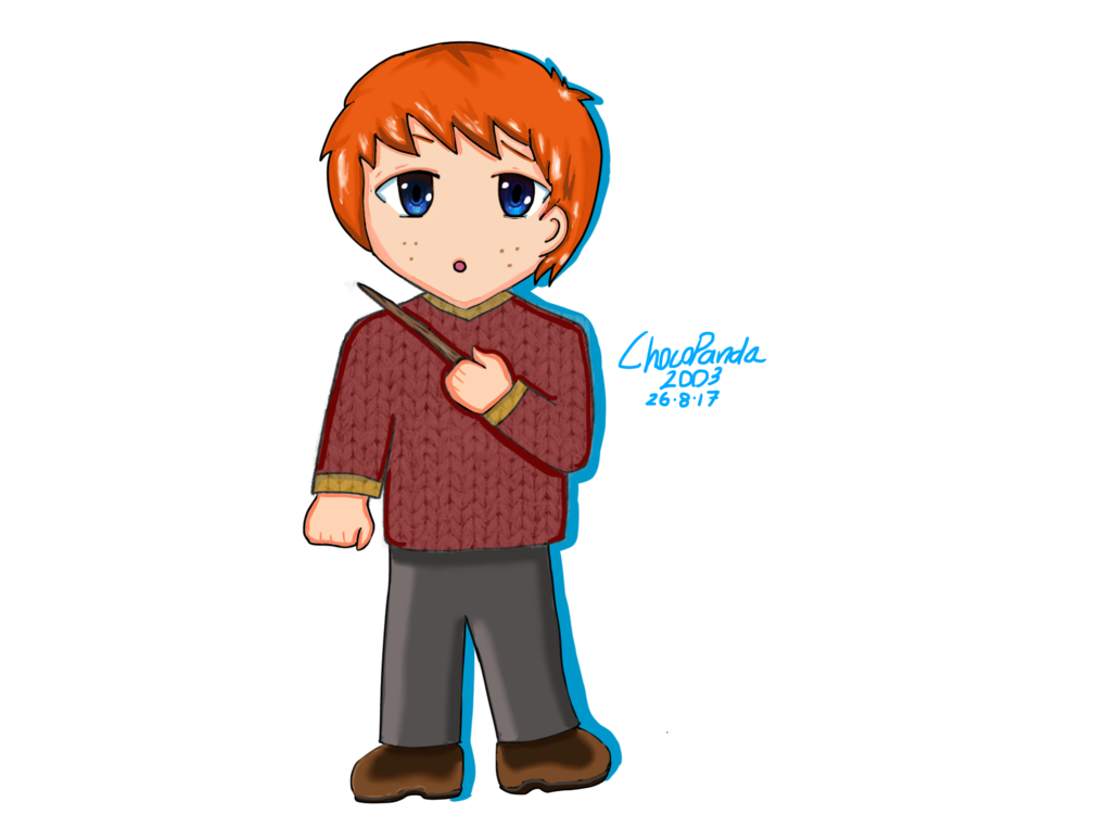 1032x774 Ron Weasley Chibi By Chocopanda2003