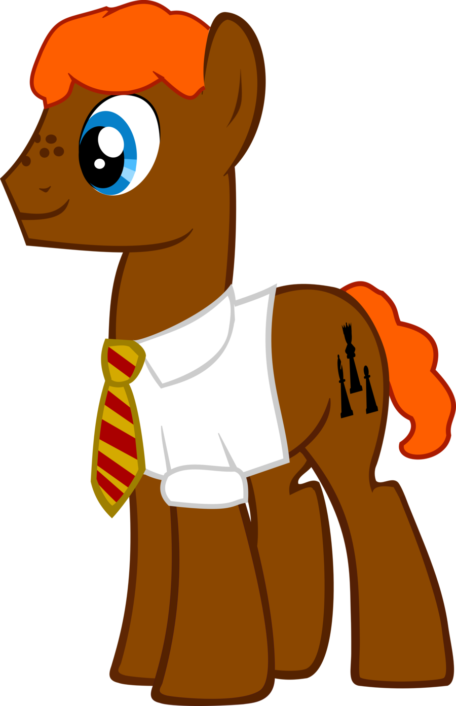900x1392 Ron Weasley As A Pony By Asdflove
