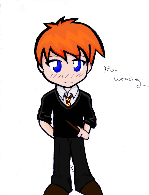 600x787 Ron Weasley Chibi By Urban14