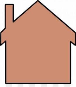 260x300 House Free Content Clip Art