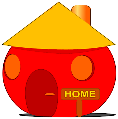 415x417 Free Roof Clipart