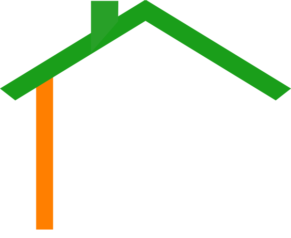 600x491 Irish House Roof Clip Art