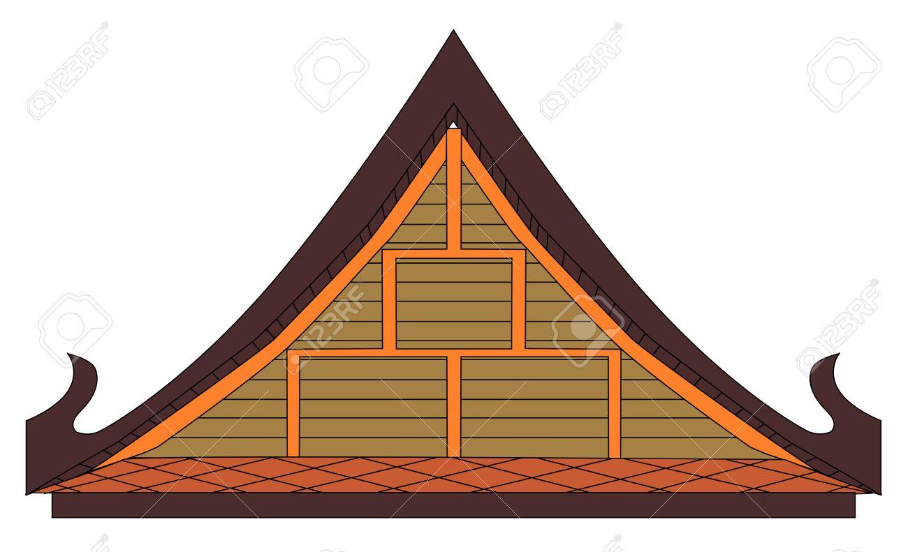 1300x791 Roof Clipart Thai