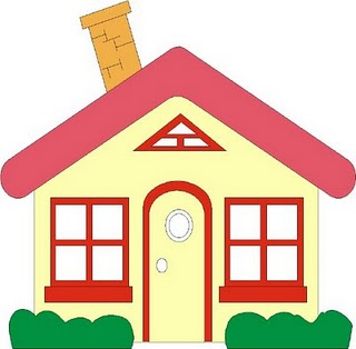 320x314 Bungalow Clipart Red Roof