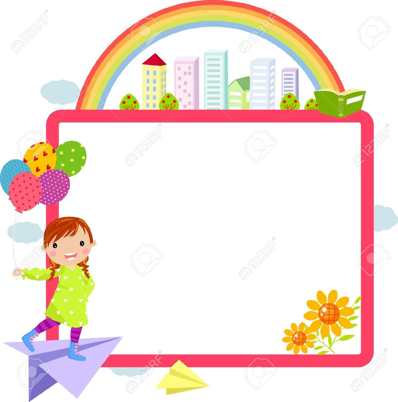 1286x1300 Rope Clipart Cute Frame