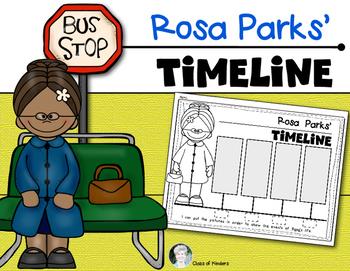 350x271 Rosa Parks {Timeline} For Kindergarten And First Grade Social Studies